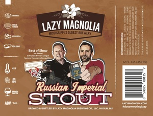 Lazy Magnolia Brewing Company Russian Imperial Stout