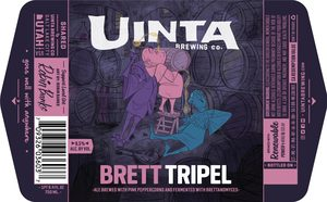 Uinta Brewing Company Brett Tripel