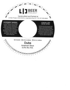 Image result for lic beer project dubs