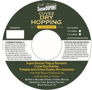 Dupont Saison Dupont Cuvee Dry Hopping
