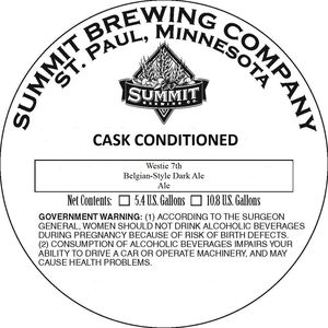 Summit Brewing Company Westie 7th