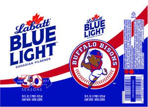 Labatt Blue Light Buffalo Bisons
