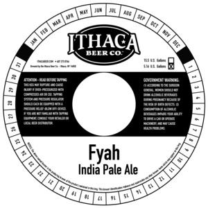 Ithaca Beer Co. Fyah
