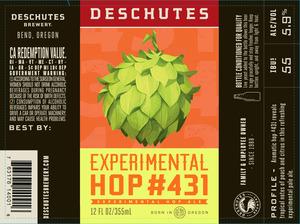Deschutes Brewery Experimental Hop