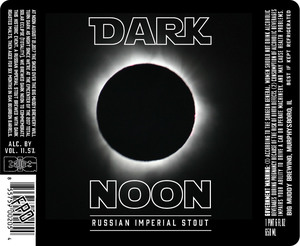 Big Muddy Brewing Dark Noon