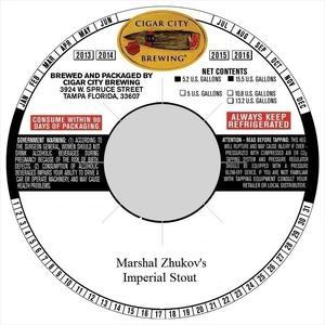 Marshal Zhukov's Stout