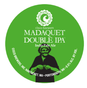Cisco Brewers Madaquet Double IPA