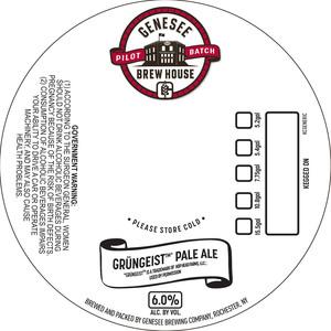 Genesee Brew House Grungeist Pale Ale
