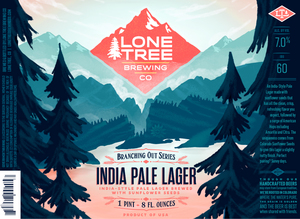 Lone Tree Brewing Company Branching Out Series India Pale Lager
