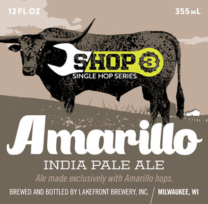 Lakefront Brewery Shop Amarillo India Pale Ale