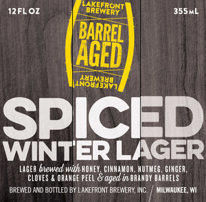 Lakefront Brewery Barrel Aged Spiced Winter