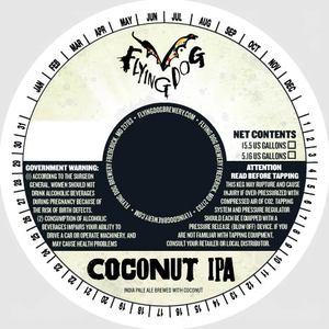 Flying Dog Coconut IPA