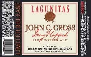 The Lagunitas Brewing Company John C. Cross