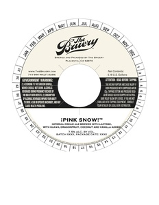 The Bruery Pink Snow