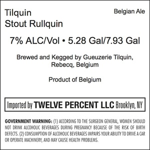 Tilquin Stout Rullquin