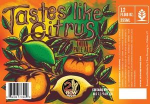 Tastes Like Citrus