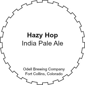 Odell Brewing Company Hazy Hop April 2017