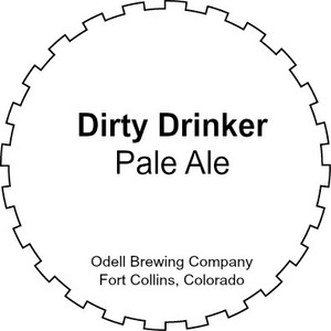 Odell Brewing Company Dirty Drinker Pale Ale