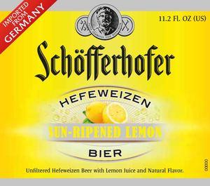 Schofferhofer Sun-ripened Lemon