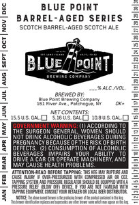 Blue Point Brewing Company Scotch Barrel-aged Scotch Ale