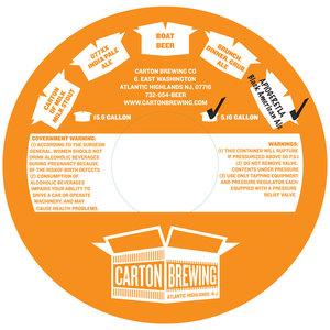 Carton Brewing Co. Apiogeretla