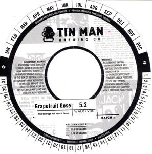 Tin Man Brewing Company Grapefruit Gose