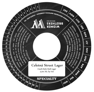 Widmer Brothers Brewing Company CeletnÁ Street Lager