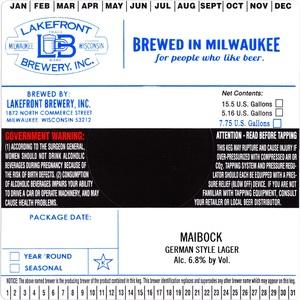 Lakefront Brewery Maibock