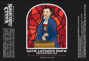 Katie Luther's Brew Hefeweizen Ale