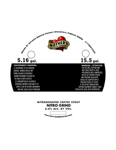 Mother's Brewing Company Nitro Grind