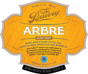 The Bruery Arbre- Light Toast