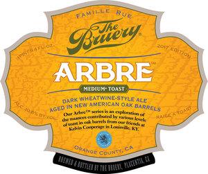 The Bruery Arbre- Medium Toast