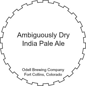 Odell Brewing Company Ambiguously Dry India Pale Ale