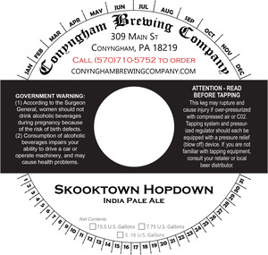 Conyngham Brewing Company Skooktown Hopdown