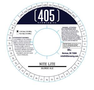 (405) Brewing Co. Nite Lite April 2017