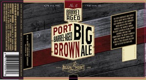 Blue Point Brewing Company Port Barrel-aged Big Brown Ale