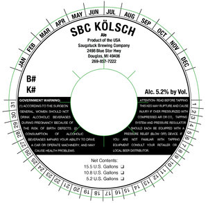 Saugatuck Brewing Company Kolsch