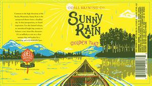 Odell Brewing Company Sunny Rain