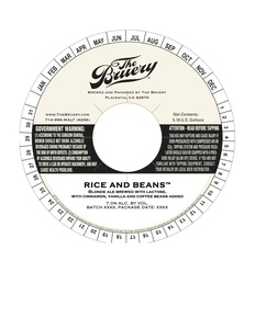The Bruery Rice And Beans