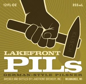 Lakefront Brewery Lakefront Pils