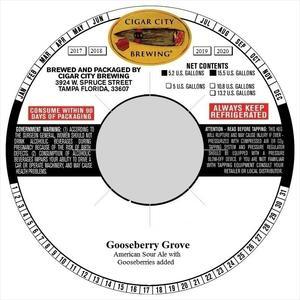 Groove Series Gooseberry Sour Ale Gooseberry Sour