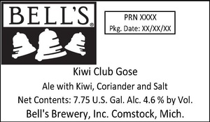 Bell's Kiwi Club Gose