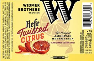 Widmer Brothers Brewing Company Twisted Citrus May 2017