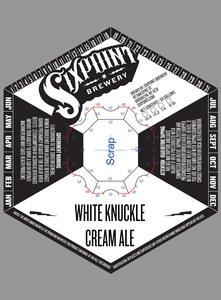 White Knuckle Cream Ale