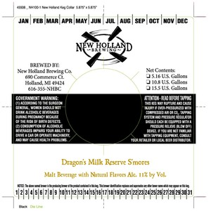 New Holland Brewing Company Dragon's Milk Reserve S'mores