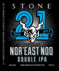 Stone Anniversary Nor'east Nod Double IPA