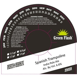 Green Flash Brewing Company Spanish Trampoline