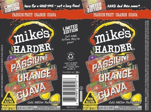 Mike's Harder Passionfruit Orange Guava