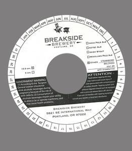 Breakside Brewery Strawberry Ballyhoo