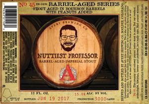 Avery Brewing Co. Nuttiest Professor